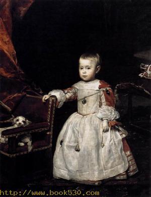 Infante Felipe Prospero c. 1660