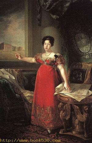 Isabella of Braganza, Second Wife of Ferdinand VII, 1829