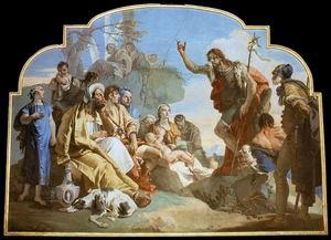 John the Baptist Preaching 1732-33