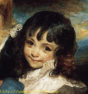 Lady Smith and Children. Detail. 1787