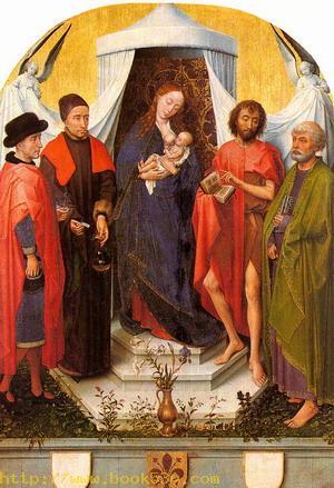 Madonna with Four Saints, 1450