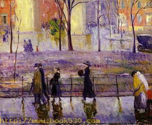March Day Washington Square 1912