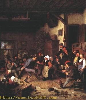 Merrymakers in an Inn 1674