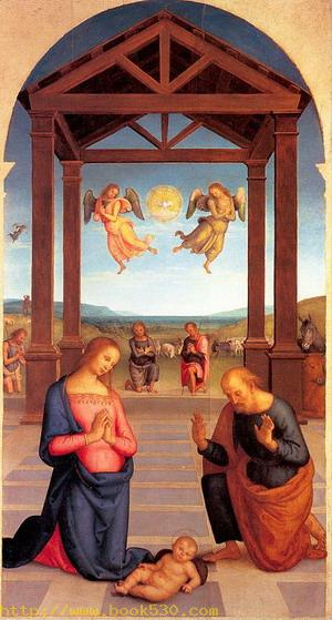 Nativity (From the Polyptych of St. Augustine) 1506-10