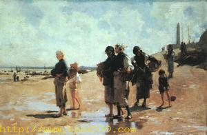 Oyster Gatherers of Cancale, 1878