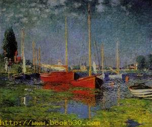 Pleasure Boats at Argenteuil 1875