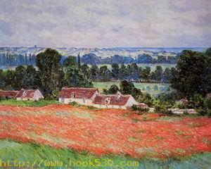 Poppy Field at Giverny 1885