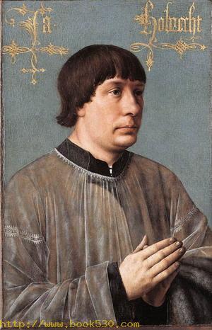 Portrait of Jacob Obrecht 1496