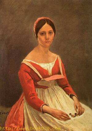 Portrait of Mme. Legois, 1838