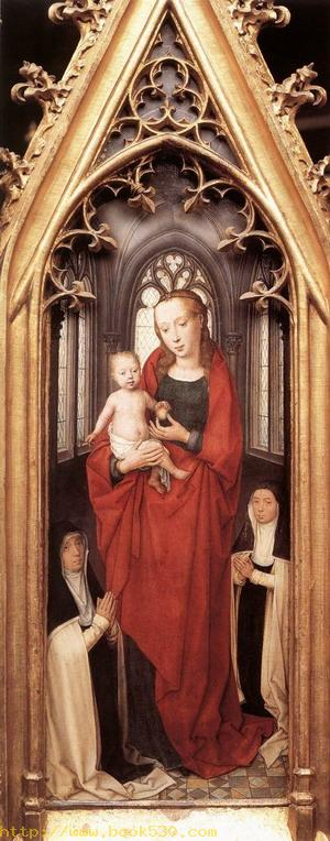 St Ursula Shrine, Virgin and Child 1489
