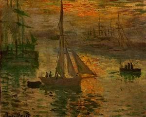 Sunrise (aka Seascape) 1873