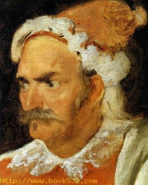 The Buffoon Don Cristobal de Castaneda y Pernia (detail) 1637-40