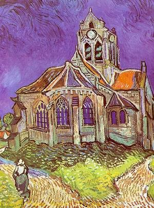 The Church at Auvers 1890