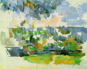 The Garden at Les Lauves c.1906