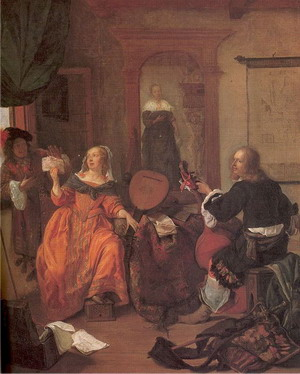 The Music Party 1659