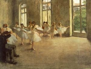 The Rehearsal c. 1873-78