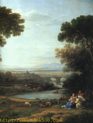 The Rest on the Flight into Egypt, detail 1651