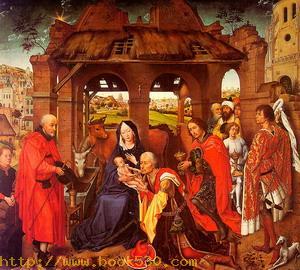 Three Kings Altar (Columba Altar), 1455