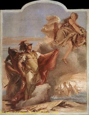 Venus Appearing to Aeneas on the Shores of Carthage 1757