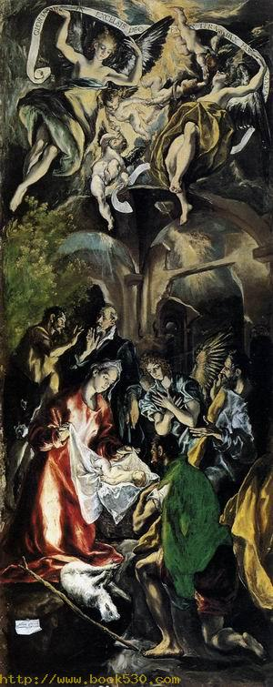 Adoration of the Shepherds 1596-1600