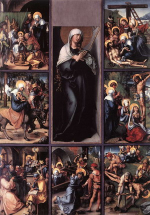 The Seven Sorrows of the Virgin c. 1496
