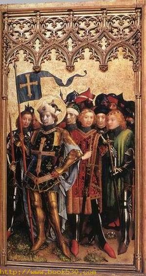 Altarpiece of the Patron Saints of Cologne 1440s (right wings)