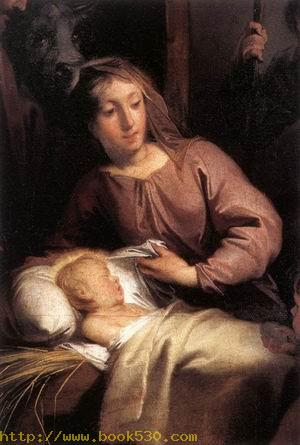Adoration of the Shepherds (detail) 1726