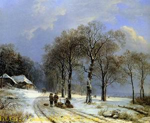 Winter landscape 1838