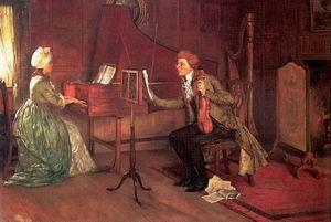 A Difficult Duet 1886