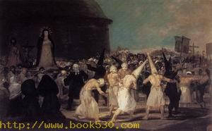 A Procession of Flagellants 1812-14