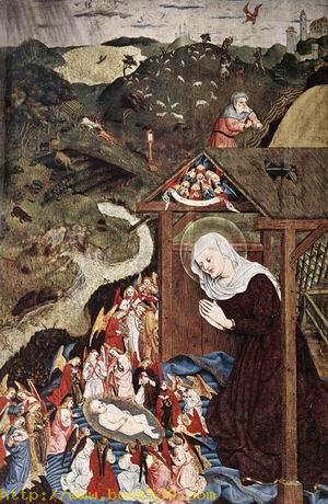 Adoration of the Child 1444