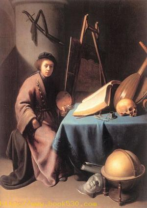 Artist in His Studio 1630-32