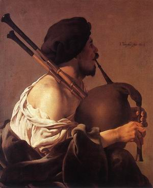 Bagpipe Player 1624