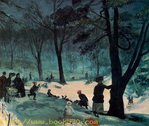 Central Park, Winter 1905