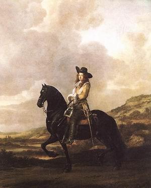 Equestrian Portrait of Pieter Schout 1660