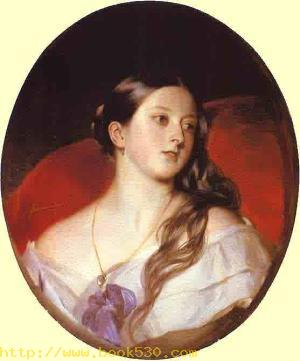 Franz Xaver Winterhalter. Queen Victoria. 1843