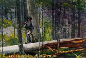 Hunter in the Adirondacks 1892