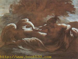 Leda and the Swan 1800s