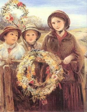 May Day Garlands 1860