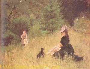 On the Lawn 1874