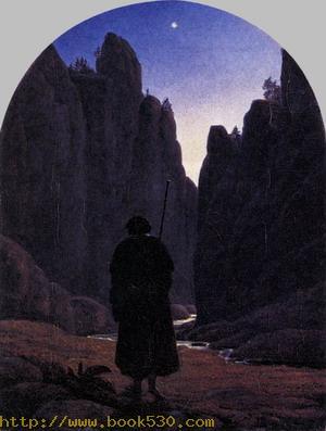 Pilgrim in a Rocky Valley c. 1820