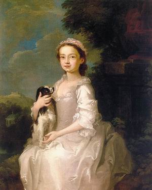 Portrait of a Young Girl 1742-45