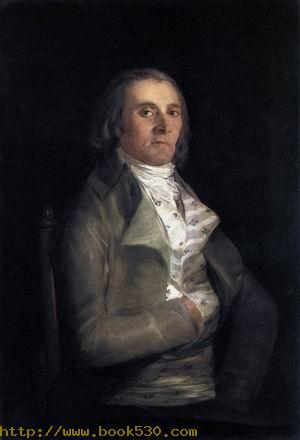 Portrait of Andres del Peral 1798