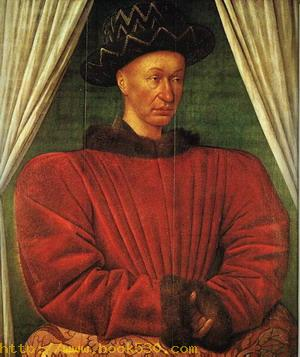 Portrait of Charles VII of France c.1445
