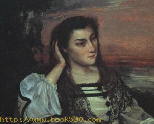 Portrait of Gabrielle Borreau 1862