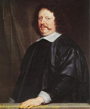Portrait of Henri Groulart 1654