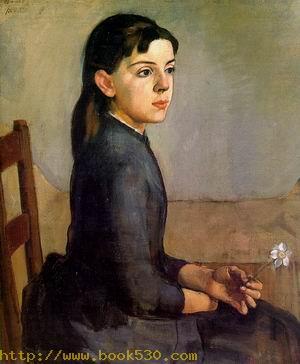 Portrait of Louise-Delphine Duchosal 1885