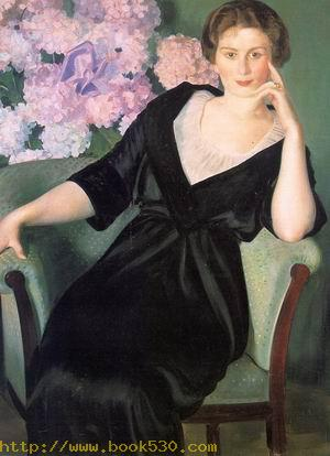 Portrait of Renee Notgaft 1914