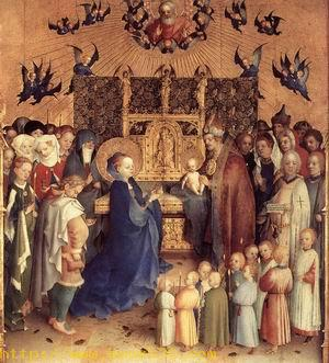 Presentation of Christ in the Temple 1447