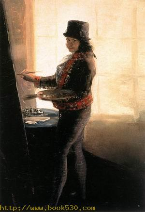 Self-Portrait in the Workshop 1790-95